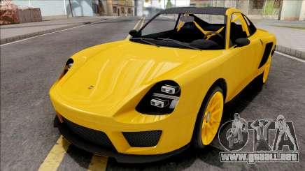 GTA V Pfister Comet SR Yellow para GTA San Andreas