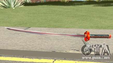 Kokoro Katana para GTA San Andreas