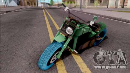 GTA Online Arena Wars Nightmare Deathbike Stock para GTA San Andreas