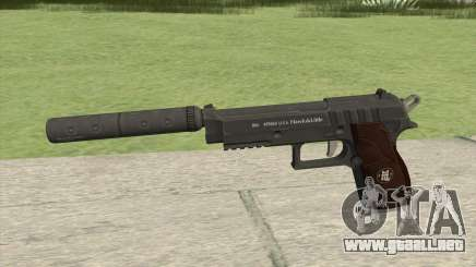 Hawk And Little Pistol GTA V Black (New Gen) V6 para GTA San Andreas