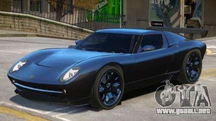 Lamborghini Miura Stock para GTA 4