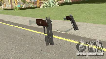 Hawk And Little Pistol GTA V Black (New Gen) V5 para GTA San Andreas