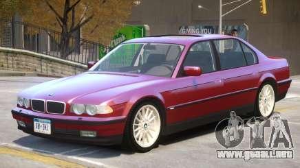 1998 BMW 750iL V1.1 para GTA 4
