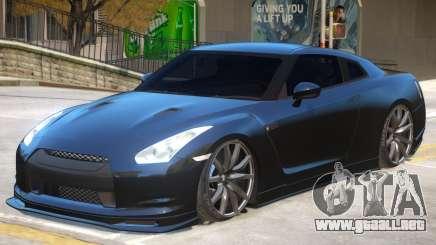 Nissan GT-R V-Spec para GTA 4