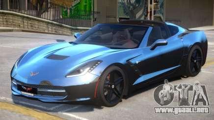 Chevrolet Corvette 3LT V1.1 para GTA 4