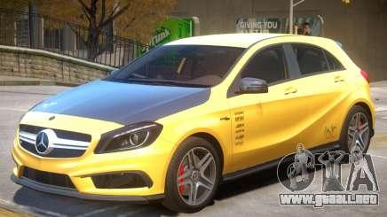 Mersedes Benz A45 V1 PJ4 para GTA 4