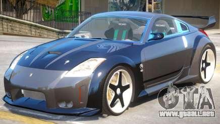 Nissan 350Z V1.1 para GTA 4