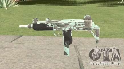 Uzi (Aquamarine) para GTA San Andreas