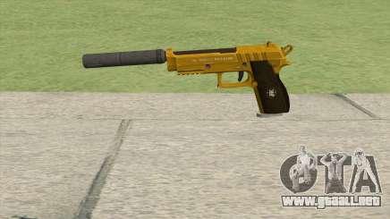 Hawk And Little Pistol GTA V (Gold) V6 para GTA San Andreas