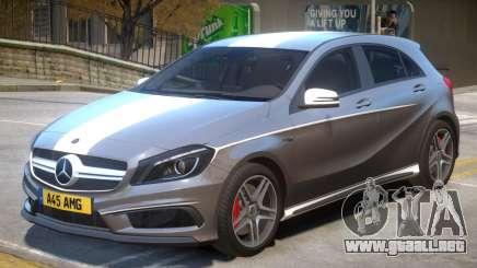 Mersedes Benz A45 V1 PJ9 para GTA 4