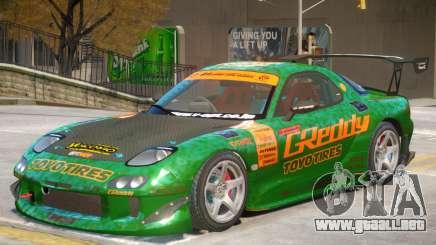 Mazda RX-7 V2 PJ2 para GTA 4