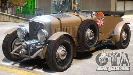 Bentley Blower V1 para GTA 4
