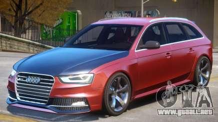 Audi RS4 Avant V1.3 para GTA 4