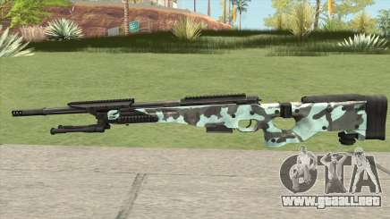 Rifle (Aquamarine) para GTA San Andreas