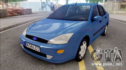 Ford Focus Sedan 1.6 Ambiente 1998 para GTA San Andreas