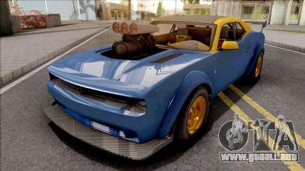 GTA V Bravado Gauntlet Hellfire IVF Blue para GTA San Andreas