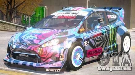 Ford Fiesta Hoonigan PJ para GTA 4