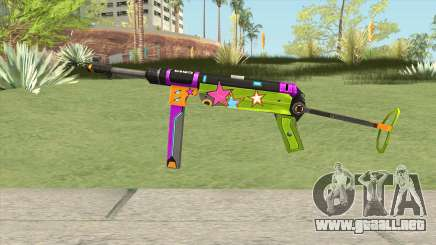 MP-40 (New Year) para GTA San Andreas