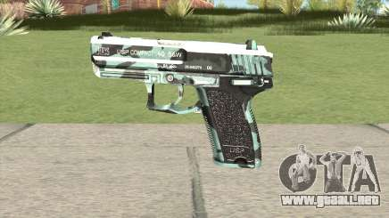Desert Eagle (Aquamarine) para GTA San Andreas
