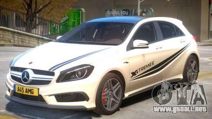 Mersedes Benz A45 V1 PJ2 para GTA 4