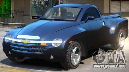 Chevrolet SSR V2 para GTA 4