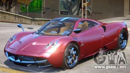 Pagani Huayra furious V1 para GTA 4