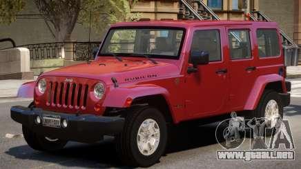 Jeep Wrangler Rubicon para GTA 4