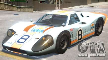 1967 Ford GT40 PJ3 para GTA 4