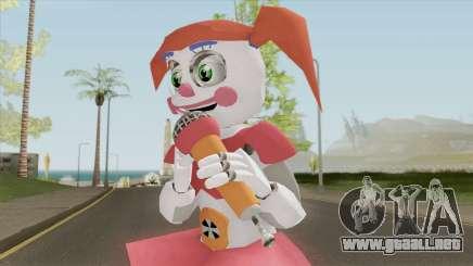 Circus Baby With Microphone (FNAF) para GTA San Andreas