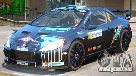 Peugeot 307 WRC PJ2 para GTA 4
