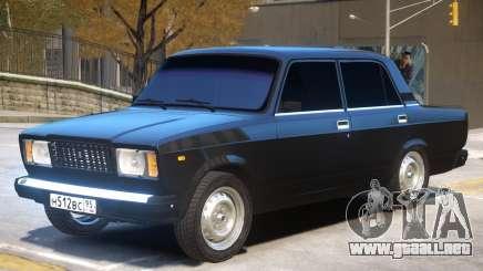 VAZ 2107 V1 para GTA 4