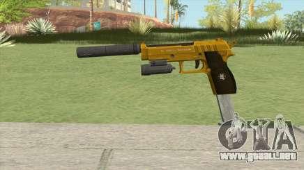 Hawk And Little Pistol GTA V (Gold) V3 para GTA San Andreas