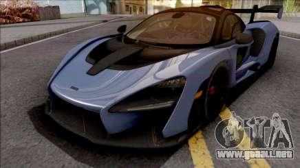 McLaren Senna 2018 Blue para GTA San Andreas