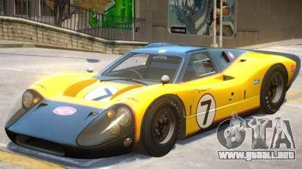 1967 Ford GT40 V1 PJ3 para GTA 4
