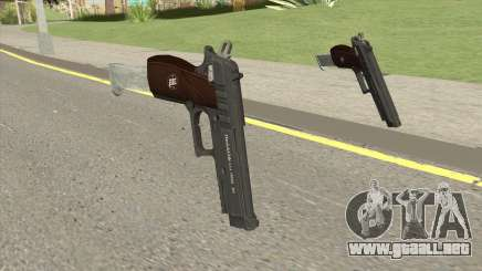 Hawk And Little Pistol GTA V Black (New Gen) V2 para GTA San Andreas