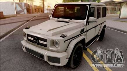 Mercedes-Benz G65 AMG Low Poly para GTA San Andreas
