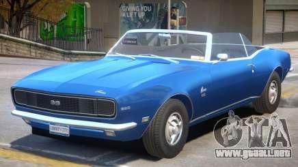 1968 Chevrolet Camaro R1 para GTA 4