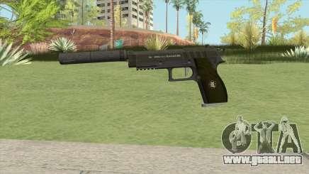 Hawk And Little Pistol GTA V (Green) V6 para GTA San Andreas