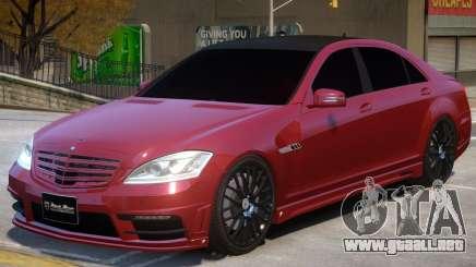 Mercedes Benz S V1 para GTA 4