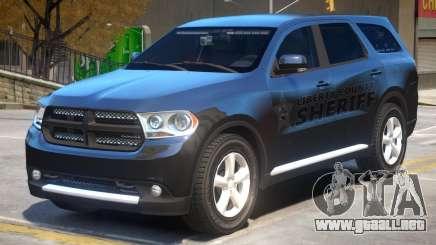 Dodge Durango Sheriff para GTA 4
