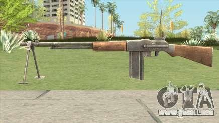 BAR M1918 Basic para GTA San Andreas
