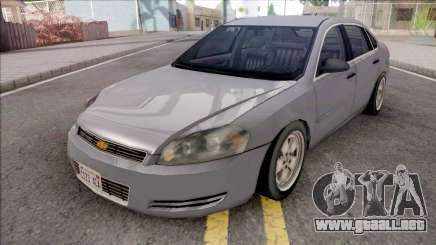 Chevrolet Impala 2007 Lowpoly para GTA San Andreas