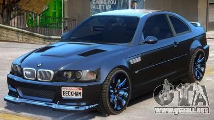 BMW M3 E46 V1 para GTA 4