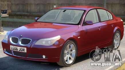 BMW 525d E60 V1.1 para GTA 4