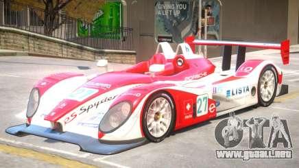Porsche RS PJ3 para GTA 4