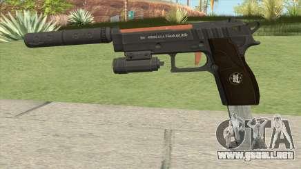 Hawk And Little Pistol GTA V (Orange) V3 para GTA San Andreas