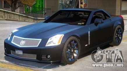 Cadillac XLR V2.1 para GTA 4
