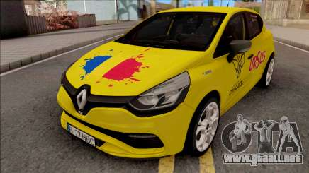 Renault Clio RS 2015 Trophy Edition para GTA San Andreas