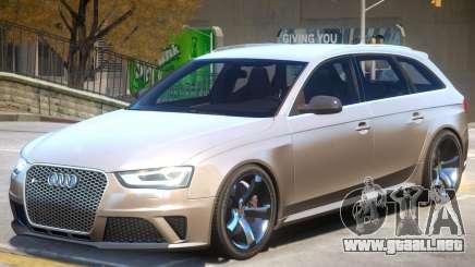 Audi RS4 Avant V1.1 para GTA 4