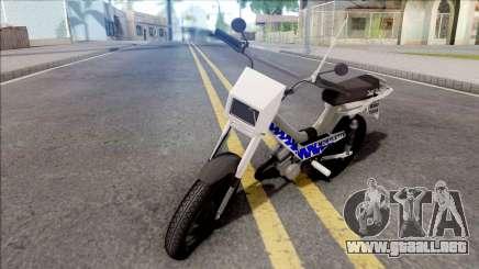 Mobylette para GTA San Andreas